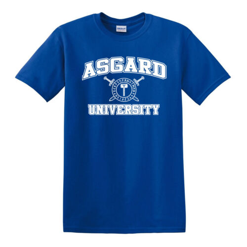 Norse Odin Viking Ragnarok Valhalla S to 6XL ASGARD UNIVERSITY T-shirt