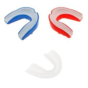 2 Lots Silicone Alignment Mouth Guards Boxing MMA Teeth Protector Gum Shield