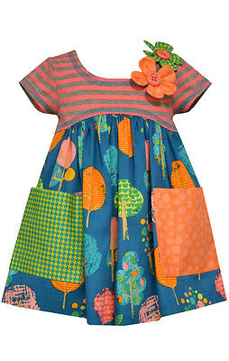 Bonnie Jean Girls Fall School Thanksgiving Party Thankful Outfit 2T 3T 4T New