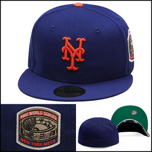 b333c17182f New Era 59fifty New York Mets Fitted Hat Cap 1969 World Series Side ...