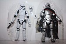 Star Wars The Force Awakens Captain Phasma & Storm Trooper 6 Inch Black Series
