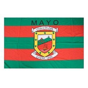 Crested Irish Gaelic Football Hurling Roscommon GAA Official 5 x 3 FT Flag
