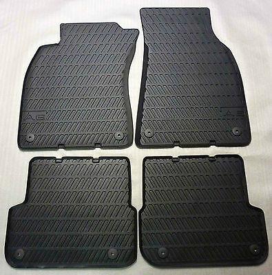 --NEU//OVP A6 Modell 4F Original Audi A6 Gummimatten für vorne und hinten