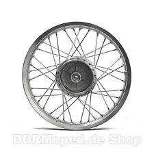SIMSON Speichenrad 1,5x16 Alufelge poliert Speichen Chrom *Top Qualität*