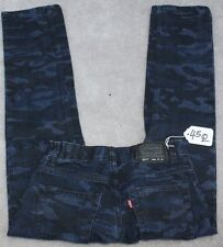 LEVI'S 511 SLIM Jean Pants for Boys 14 REGULAR - W25 X L27. TAG NO. 45Q