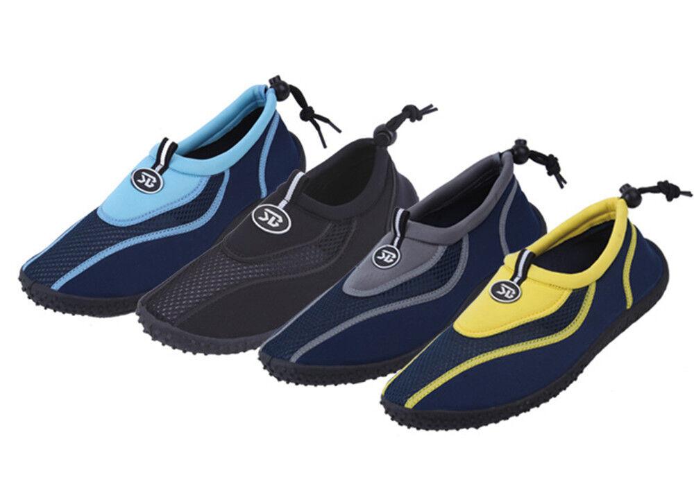 Men's Slip on Water Shoes/Aqua Socks/Pool Beach Surf Yoga Dance Exercise, Sizes