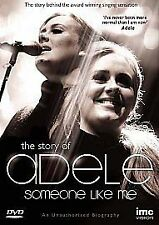 THE STORY OF ADELE SOMEONE LIKE ME GENUINE R2 DVD NEW/SEALED