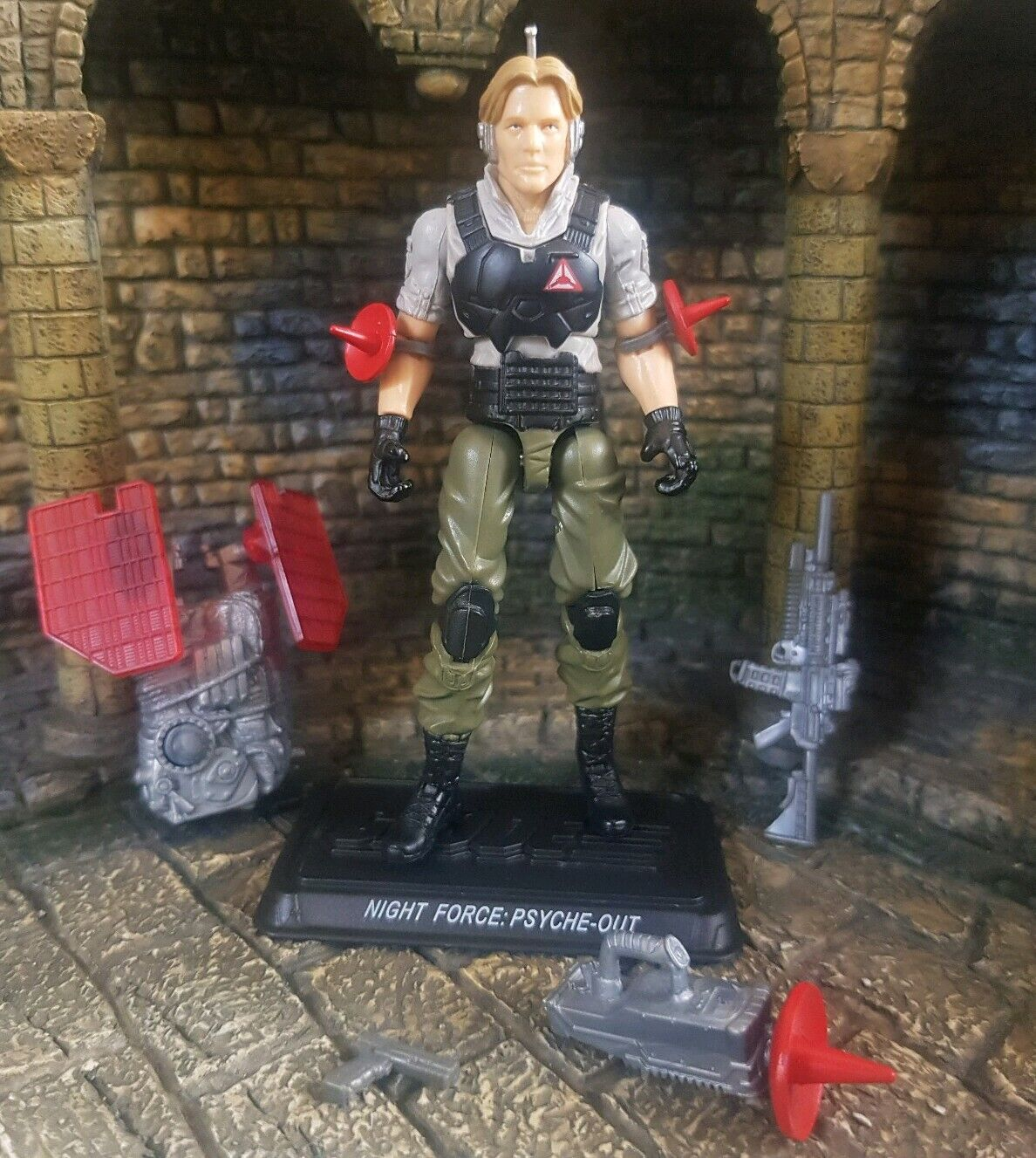 Action Force GI Joe Nocturnal Fire Joecon Exclusive Psyche Out by Hasbro