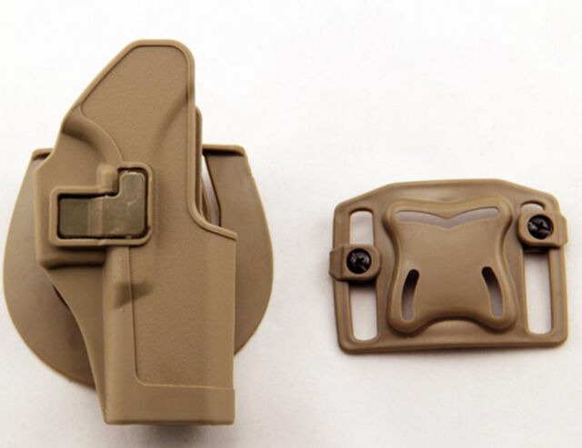 Quick Tactical Holster Right/Left Hand Paddle Belt Holster for Glock 17 18 19 32
