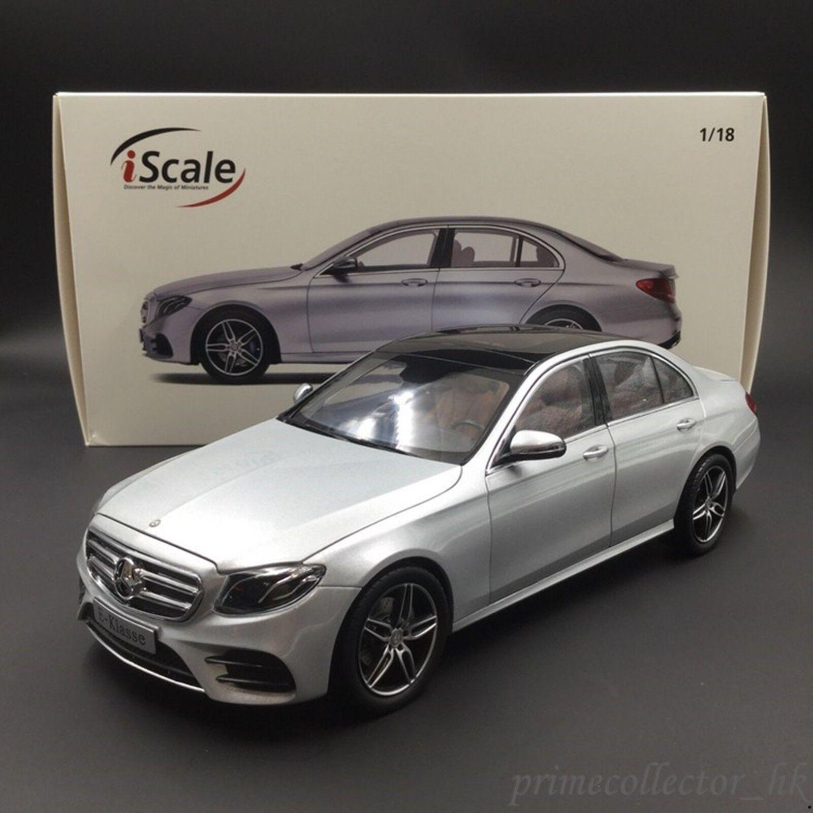 Iscale 1 18 Mercedes Benz E-Klasse argento Limousine W213