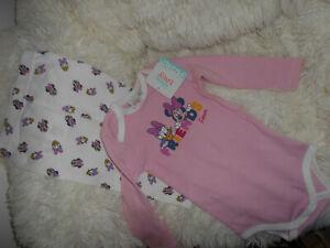 Disney baby ensemble body + legging 9 mois neufs étiquette