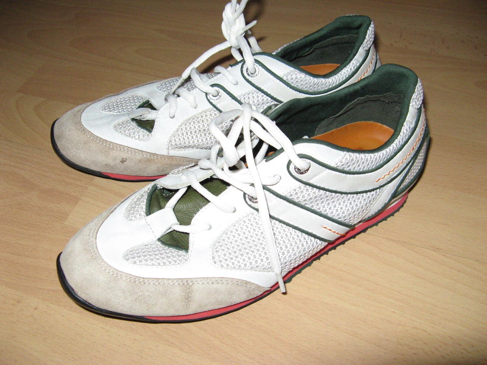 A malapena utilizzato da Uomo Autentico Bianco Hugo Boss Da Tennis Ginnastica 7 EU Scarpe classiche da uomo