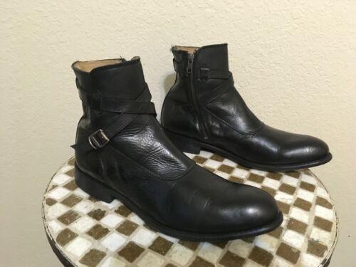 FRYE BLACK BEATLE BOOTS 11 D