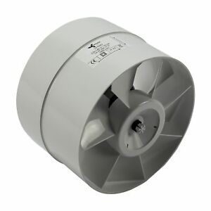 In-line axial rohrlüfter 150 mm 298 m³ ventilateur climatique-r 150 mm 298 m³ Lüfter Klimaafficher le titre d`origine GMY4n7Cr-07191126-359227822