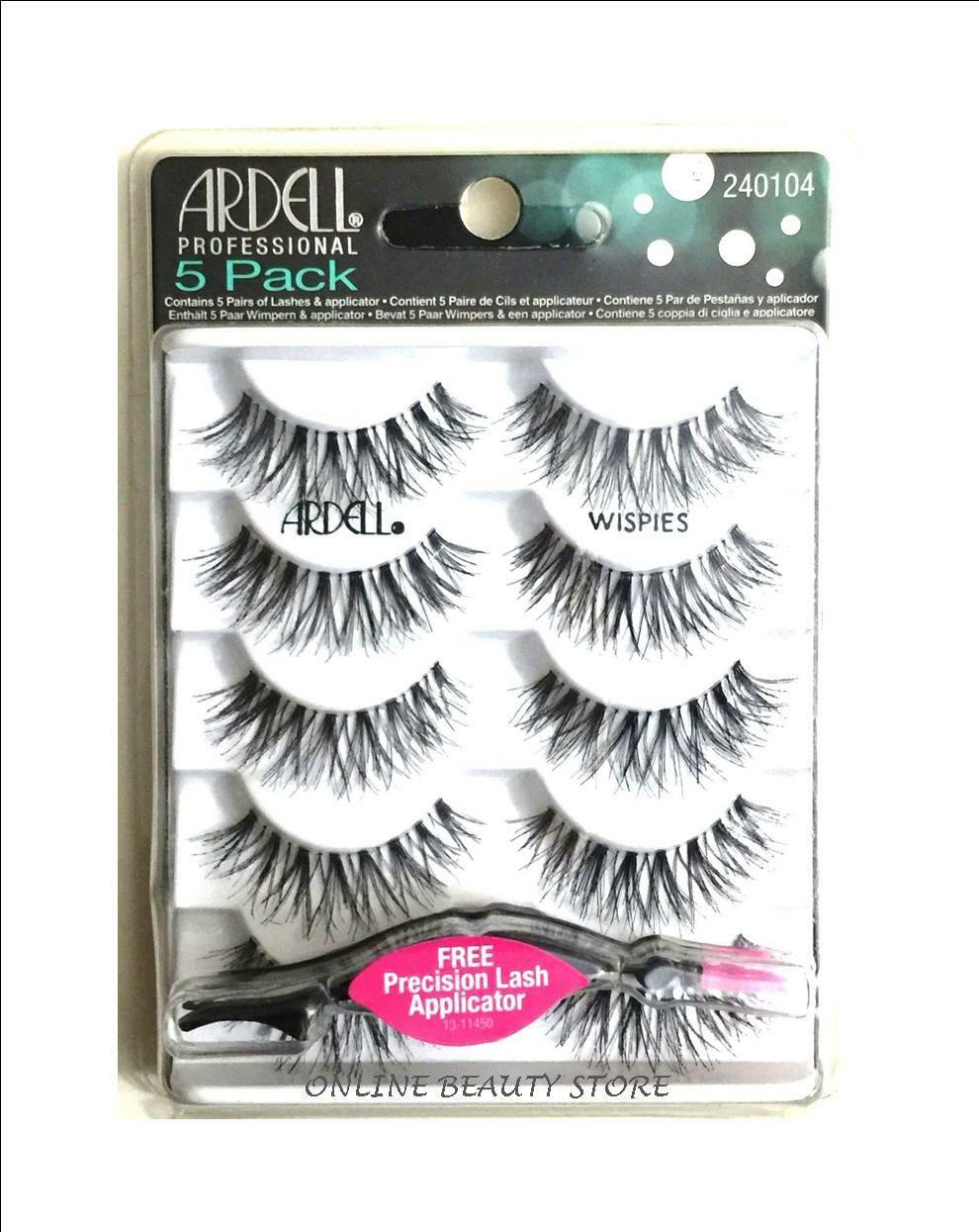 e71ab4c1085 Ardell Lashes Wispies Black 5 Pack for sale online | eBay