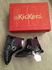 BNIB *CLEARANCE* Kickers Leather Boots UK Inf 8 Eu 25 RRP £56 100% Genuine