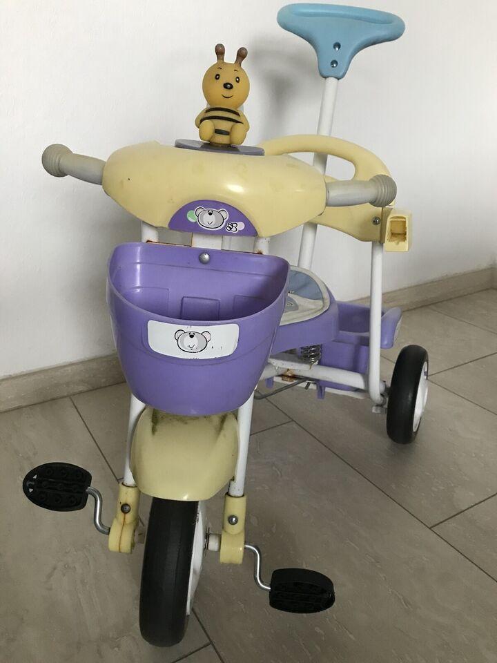 Pigecykel, trehjulet