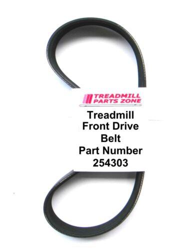 Treadmill Motor Belt Nordic Track Pro Form Weslo Part Number 254303