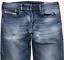 Da-Uomo-Diesel-Zatiny-Jeans-W30-L30-Blu-Bootcut-Wash-0848C-Stretch miniatura 1