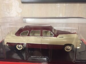 ZIM-12-GAZ-12-Scale-1-24-Hachette-Diecast-model-car-USSR