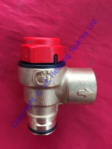 Véritable Vokera pluie 24 24bi 28 /& 28bi limiteurs de pression soupape de sécurité 2907 8433