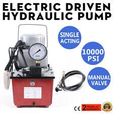Electric Driven Hydraulic Pump10000psi Hydraulic Electric Pump 750w Single Acti