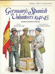 Osprey-Men-At-Arms-series-Germany-039-s-Spanish-Volunteers-1941-45