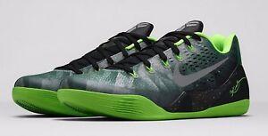 8dec19ba3ee0 Nike Kobe 9 EM Gorge Green Metallic Silver-Electric Green 652908-303 ...