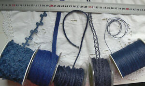 BURLAP-Jute-DARK-BLUE-1-to-16mm-Wide-2-to-50-Metres-Long-5-AsstStyle-Choice-BRD4