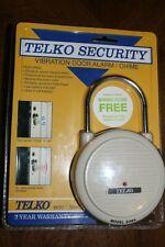 Telko Security Vibration Door Alarm Chime Model S084 Vintage 1992 New For Sale Online