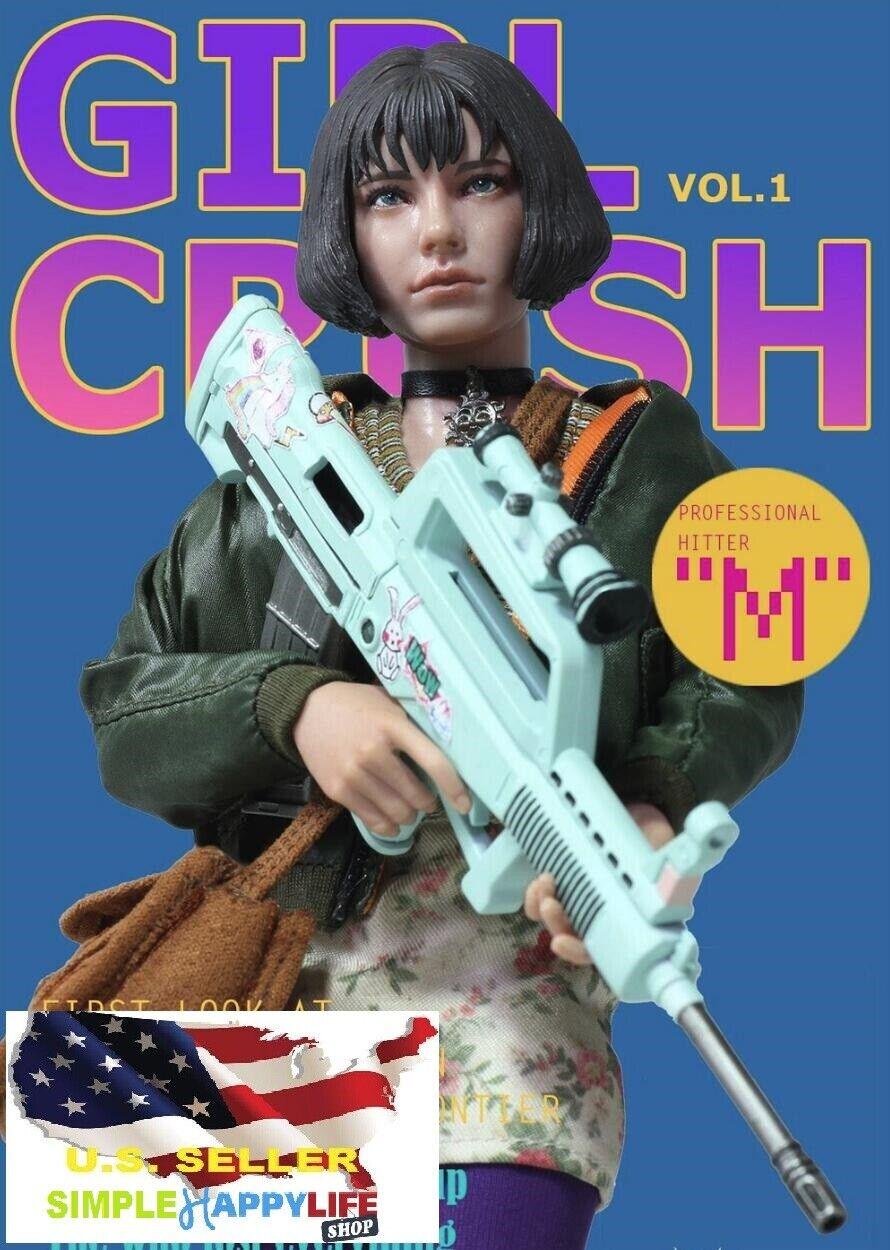 1 6 Girl Crush Action Figure Léon The Professional GC001 ASMUS Mathilda ❶USA❶