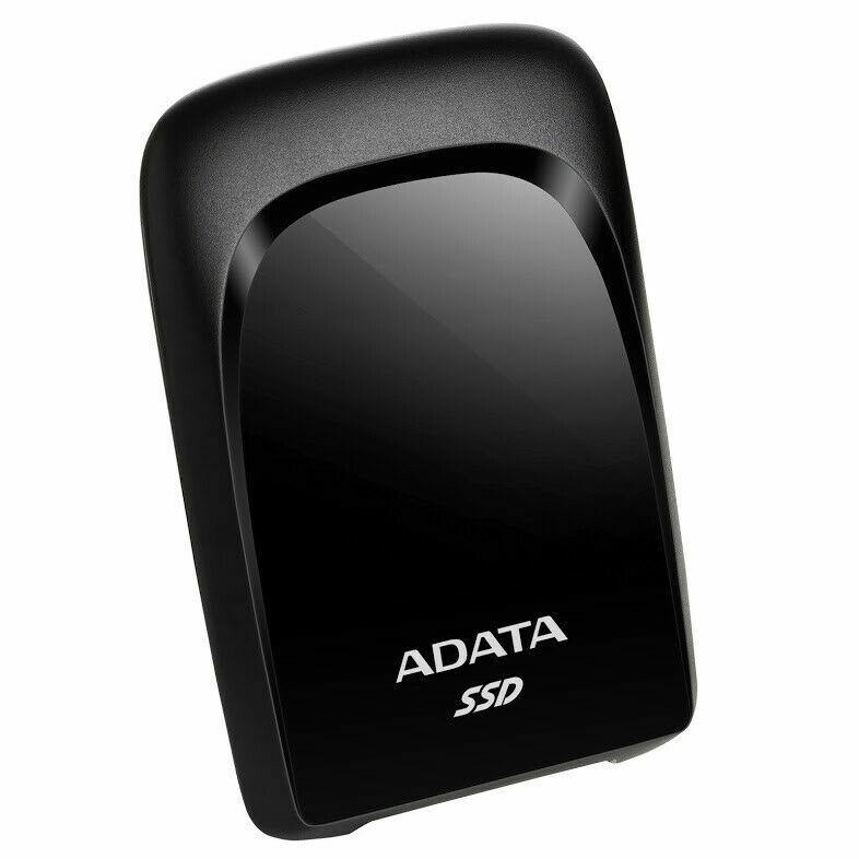 New ADATA SC680 External Solid State Drive - Black - 240GB.