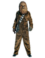 Star Wars Mens Dlx Chewbacca Costume, Std,chest 44,waist 30-34,inseam 33