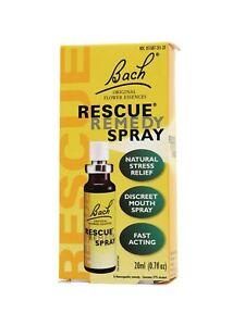 Details about Bach Original Flower Essences, Rescue Remedy Spray, 0 7 oz,  20 ml