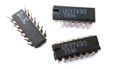 SN5490A//SN7490AN Decade Counter 5490 IC MH5490A 1 Pcs