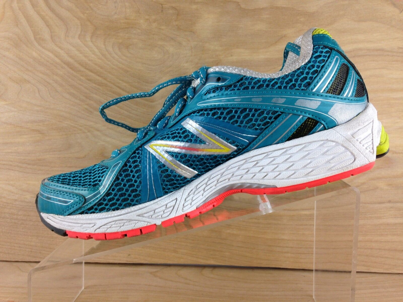 New Balance 780 v3 Womens Teal Lace Up Running shoes Size 8B