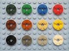 LEGO 4032 403221 Qty. 4 Plate 2x2 Round Choose Your Color