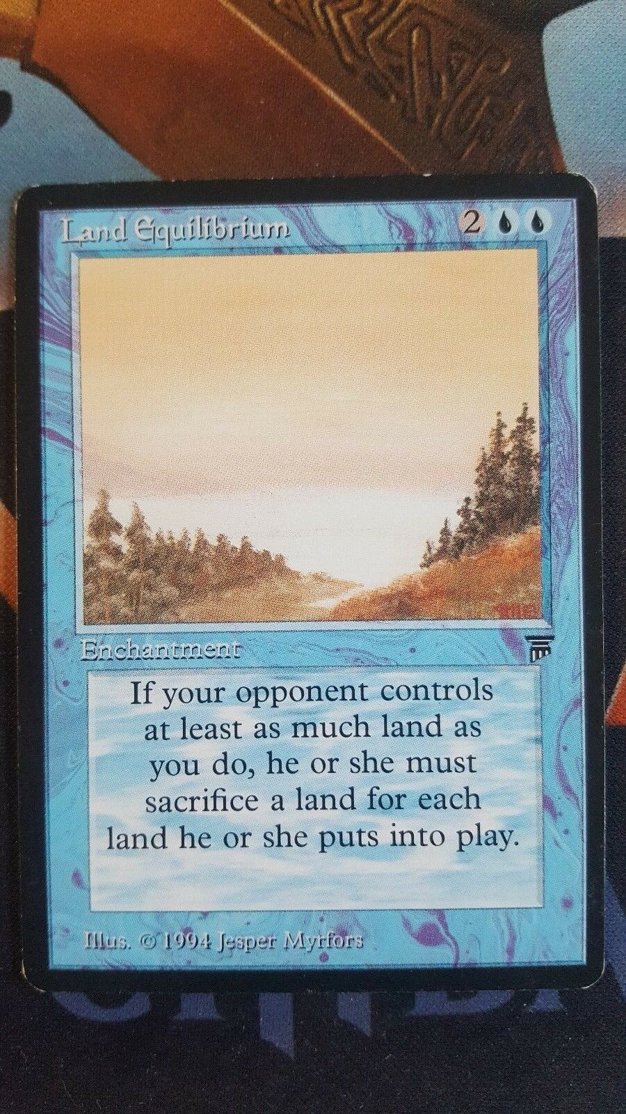 MTG Magic the Gathering Legends Land Equilibrium NM