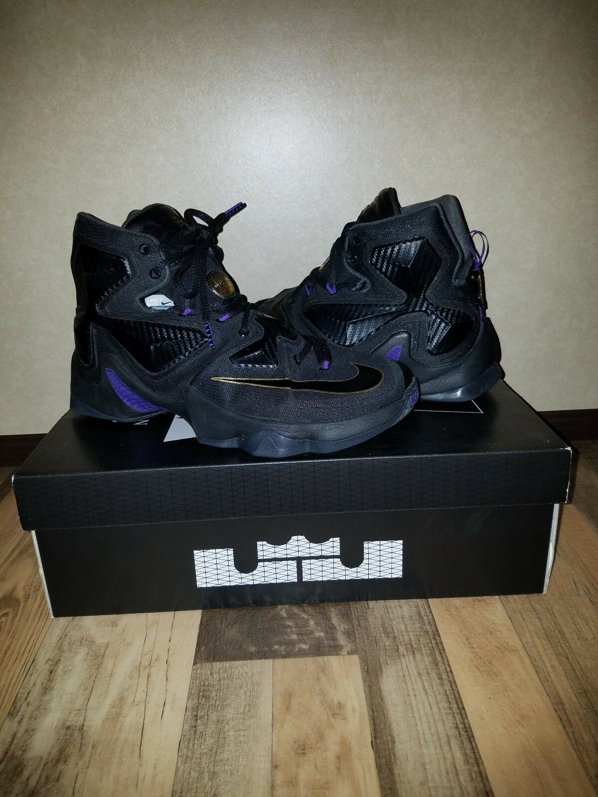8a10880e538 Nike Lebron XIII 13 Pot Of gold Size Size Size 9.5 56af74 - slippers ...