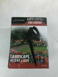 200-Lumens Black Outdoor Integrated LED Landscape Spot Light by Stonepoint LED