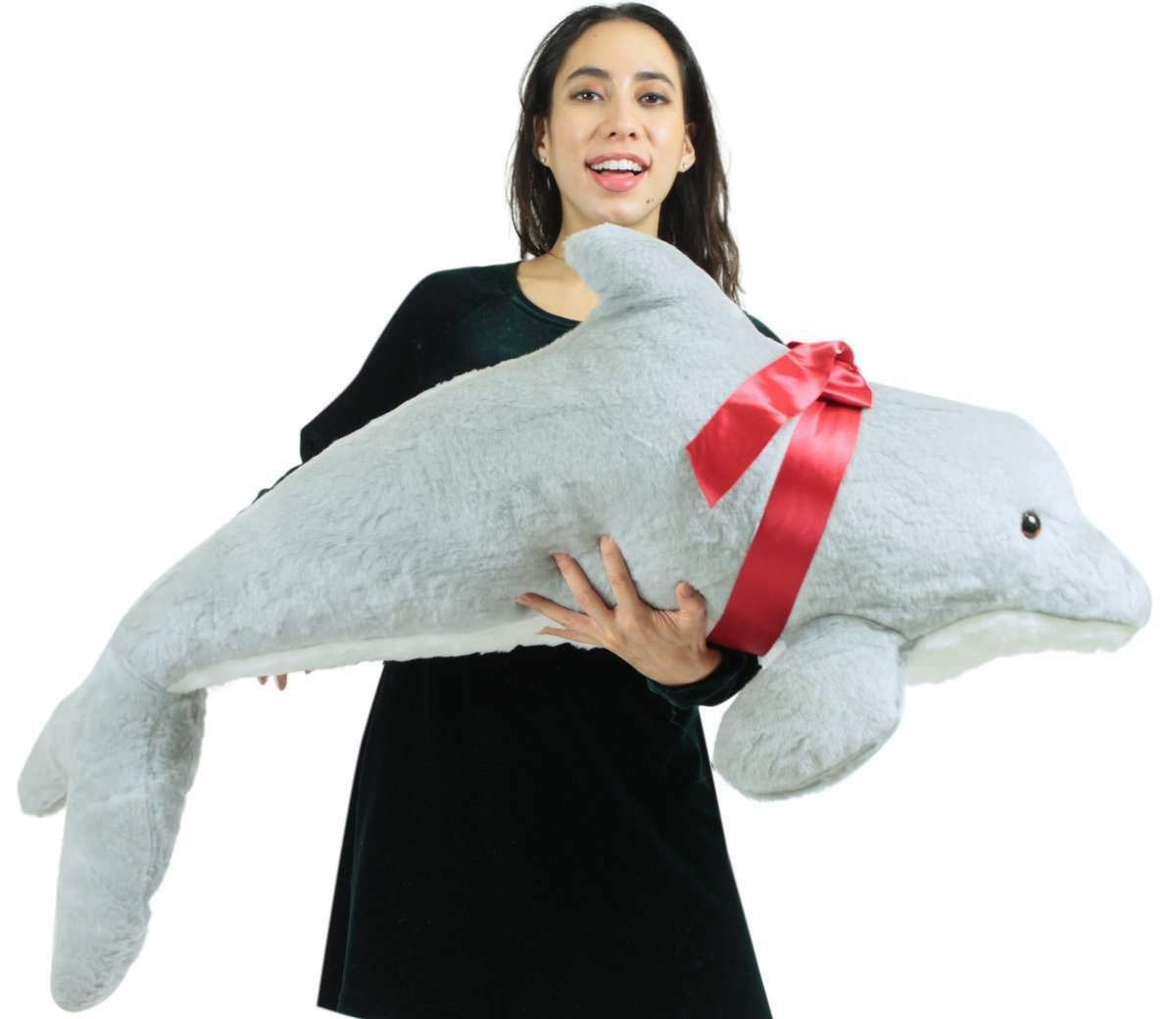 Amerikaner machte riesige gefllte dolphin 46 zentimeter weiche plsch made in usa amerika neue