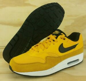 Nike Air Max 1 Prem University Gold White Black Bv1254 700 Sz 11.5 Men Shoes