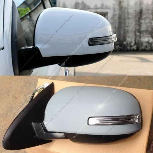 Exterior Mirrors 9 Wire LEFT Rearview Mirror White Assembly For ...