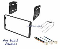 Double Din Car Radio Kit Combo For Some 98-08 Ford Excursion F150 Explorer W/amp