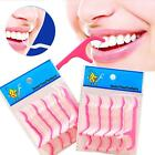 250pcs Dental Floss Flosser Picks Teeth Toothpicks Stick Oral Care Tooth Clean