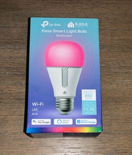 TP-Link Kasa Smart Multicolor Wi-Fi Light Bulb A19 LED Factory Sealed NEW