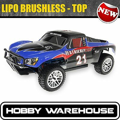 LIPO TOP VERSION 1/10  HSP Brushless 2.4Ghz Rally Short Course RC Truck 94170