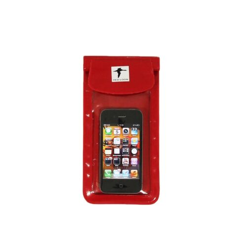 Apple iPhone 4 Red Loon Mobile Phone Smartphone Bag Handlebar Bag Waterproof