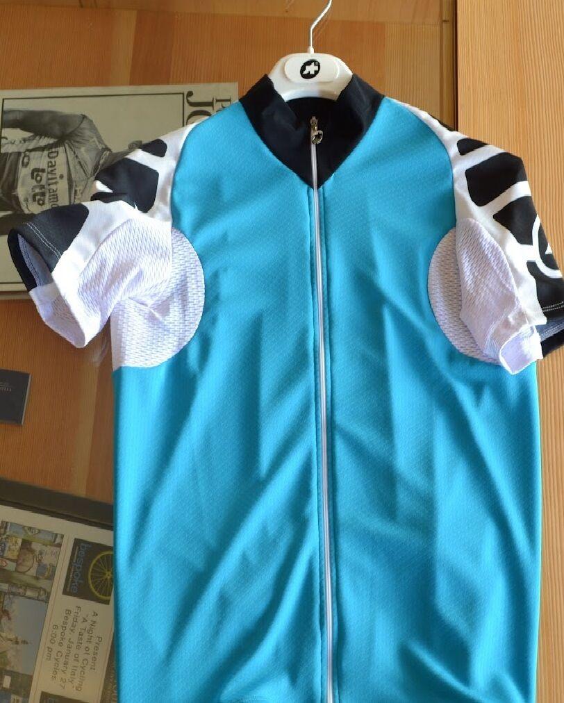 Tamaño S Assos s5.UNO Bicicleta de Carrera Montaña Ciclismo Camiseta de manga corta CX Completo Zipp    Mille