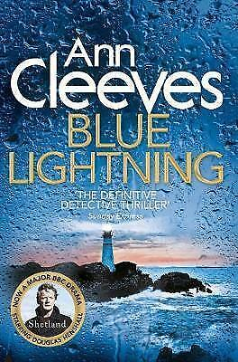 1 of 1 - Blue Lightning by Ann Cleeves (Paperback, 2015)